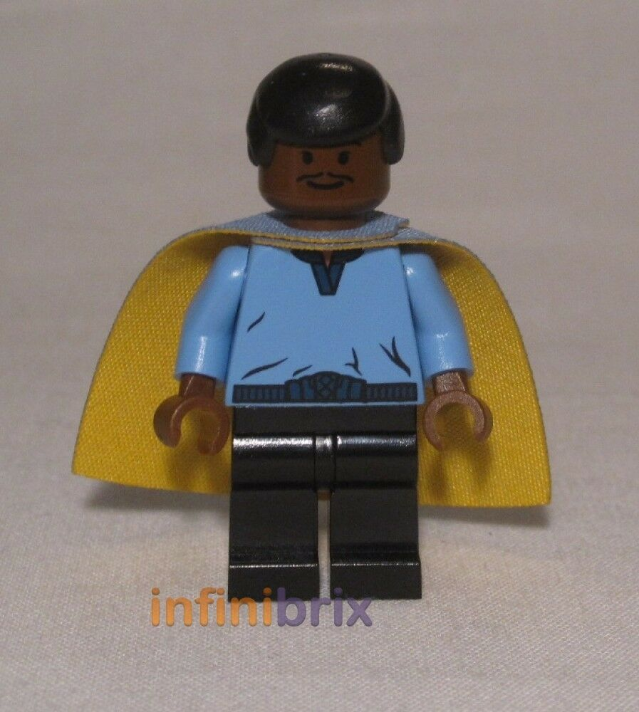 Lego Lando Calrissian (bluee Outfit) from Set 10123 Cloud City Rare NEW sw105