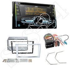 JVC CD USB Bluetooth Doppel-DIN Autoradio für Opel Antara Astra H Zafira matt ch