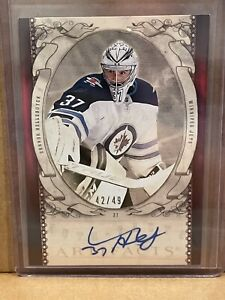 2020-21 Artifacts CONNOR HELLEBUYCK RETRO 2010-11 Auto SSP 42 OF 49
