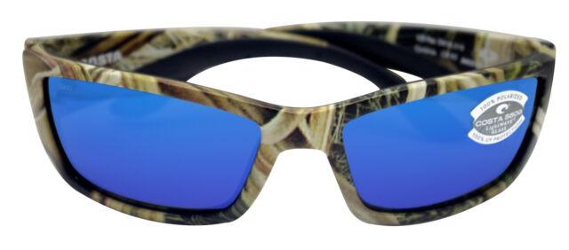c7166a8a3b94 Costa Del Mar Corbina Mossy Grass Camo Blue Mirror 580G Glass Polarized Lens