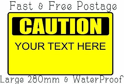 Caution Sign Customized Safety Sign Machine Sign Danger Sign Warning Sign