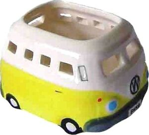 VW-Tea-Light-Candle-Holder-Ceramic-Yellow-Tealights