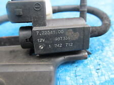 1742712 ELECTRIC VACUUM VALVE from BMW 328 i SE SALOON E46 1999