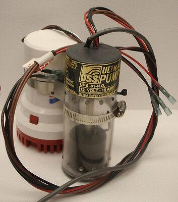 Ultra Safety UPS-01 Bilge Pump Switch Sr 12V float switch w//Alarm sensor N.O.