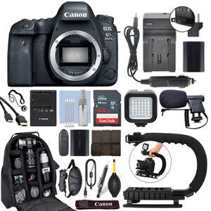 Canon-EOS-6D-Mark-II-26-2MP-Digital-SLR-Camera-Body-64GB-Pro-Video-Kit