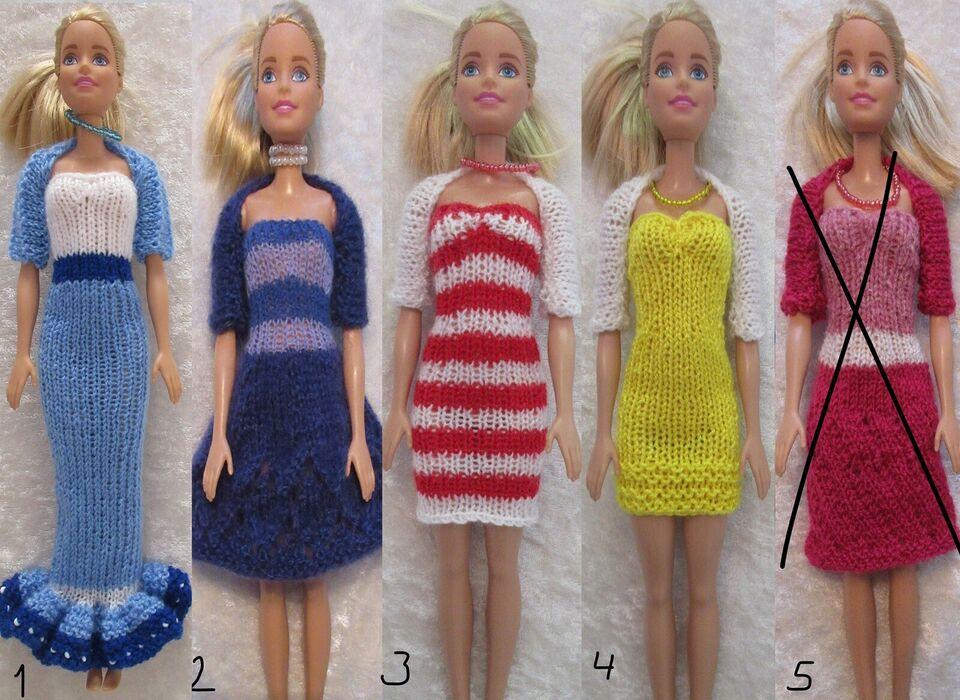 Dukketøj, Barbietøj, Barbiekjoler