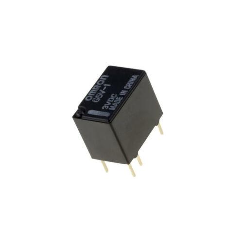 3VDC 0.5A//125VAC 1A//24VDC OMRON OC electromagnetic SPDT Ucoil G5V-1 3VDC Relay