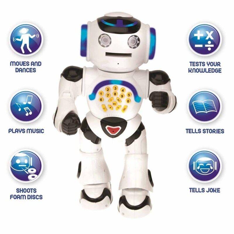 Lexibook ROB50EN Powerman Educational Robot