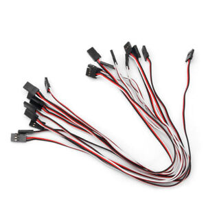 5-pieces-30cm-Servo-Extension-Lead-male-to-male-Wire-Cable-for-Futaba-JR
