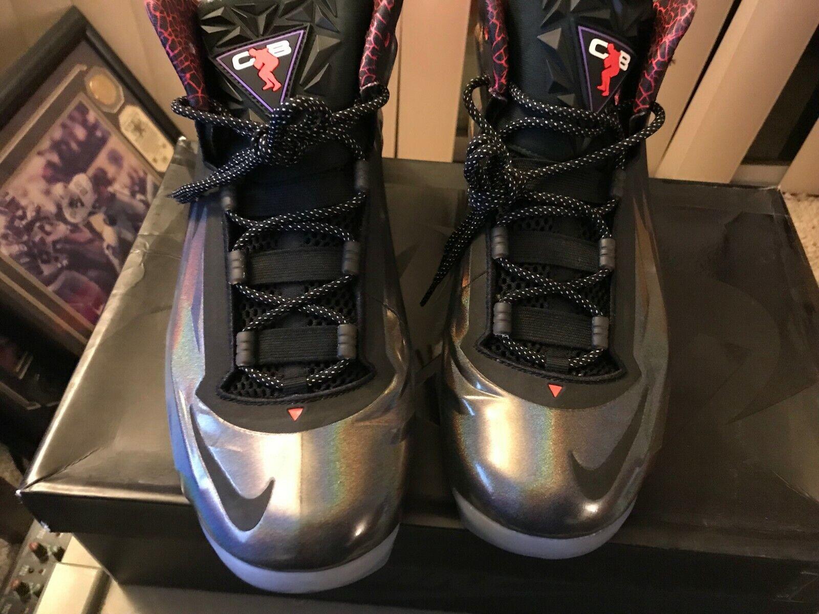 Nike Chuck Posite Charles Barkley Purple Haze Black shoes Size 11 684758-501