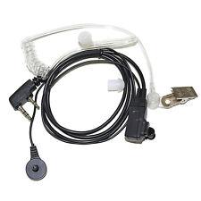HQRP 2 Pin Auricular Micrófono para Kenwood TK-3360, TK-3400, TK-3402, TK-5220