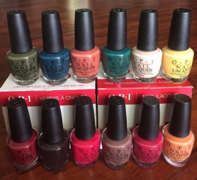 OPI Nail Polish Washington DC Fall Collection Full 12 Bottles Set 2016