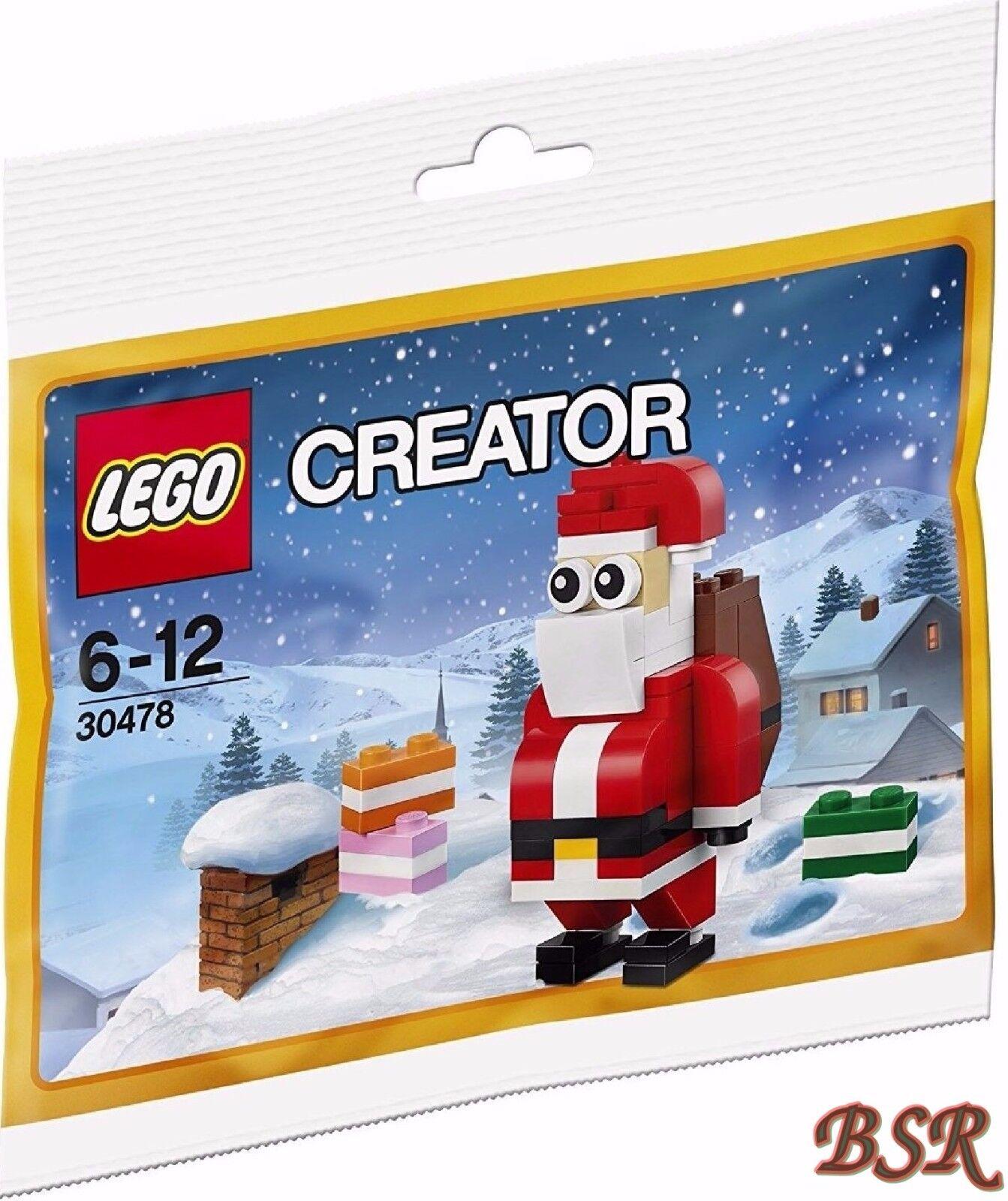30 x LEGO®  Creator 30478 Lustiger Weihnachtsmann Polybag   NEU OVP 0.- Versand