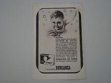 advertising Pubblicità 1948 SAPONE VISET RUMIANCA