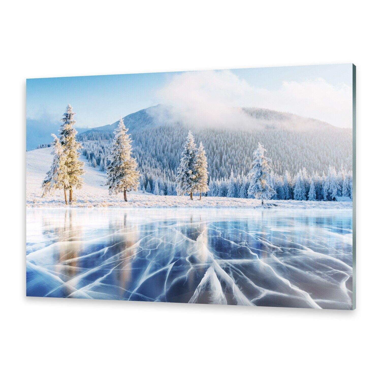 Cristal acrílico acrílico Cristal imágenes muro imagen desde plexiglas ® imagen congelado lago c0ccb7