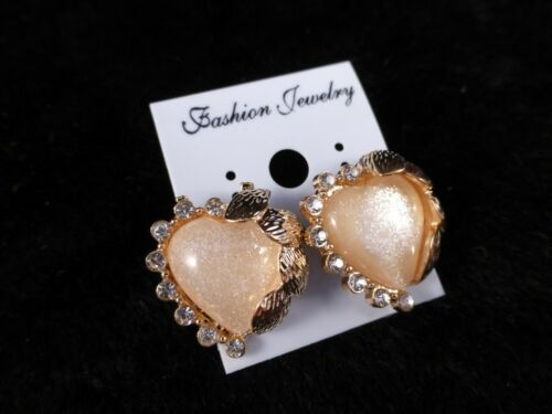 Multiple Designs ! Large Faux Stone /& Gold Toned Quality Fashion Stud Earrings