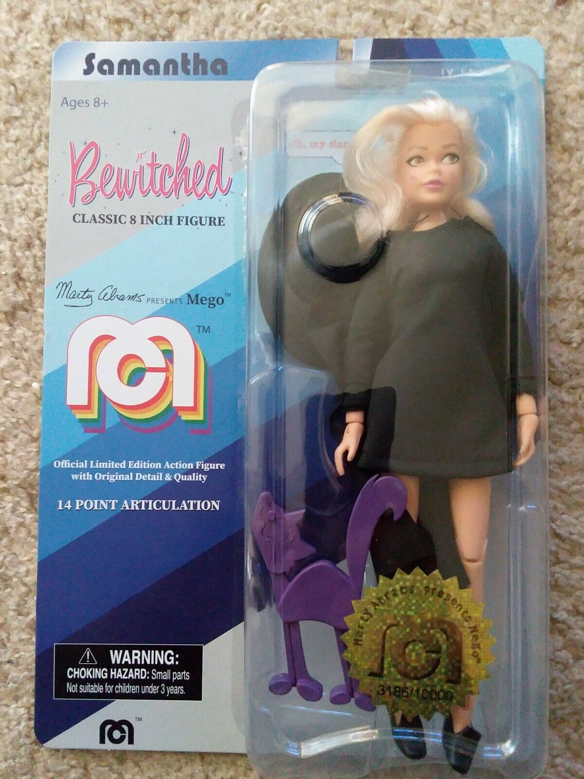 """2018 MEGO Sauomotha Bewitched Ltd 10,000  Target azione cifra bambola 8"""" with smudge  vanno a ruba"""