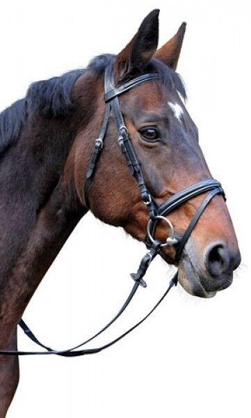 Kerbl Kerbl Kerbl 326137 Trensenzaum Classic Pony Zaum schwarz Leder 5ce453