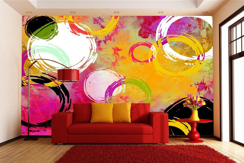 3D 3D 3D Kreisförmigen Muster1109 Fototapeten Wandbild Fototapete Bild Tapete Familie 66cb9c