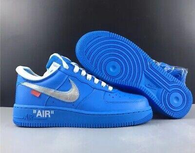 nike af1 off white blue