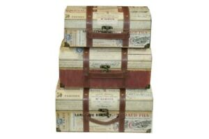 Punch-Studio-Large-Nesting-Luggage-Trunks-3pc-Set-47268N-French-Discontinued