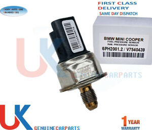 FUEL RAIL PRESSURE SENSOR FOR BMW MINI COOPER S R55 R56 R57 R58 R59 1.6 EP6