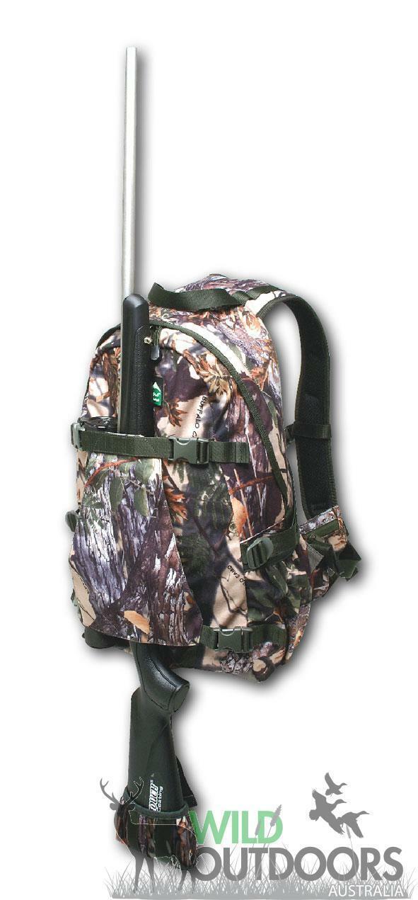 Ridgeline Back Pack gunslinga, Buffalo Camo
