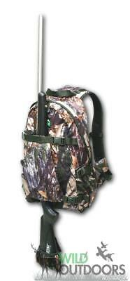 Gunslinga Hydro Backpack Buffalo Camo 35 Litre Rucksack Rifle Holder