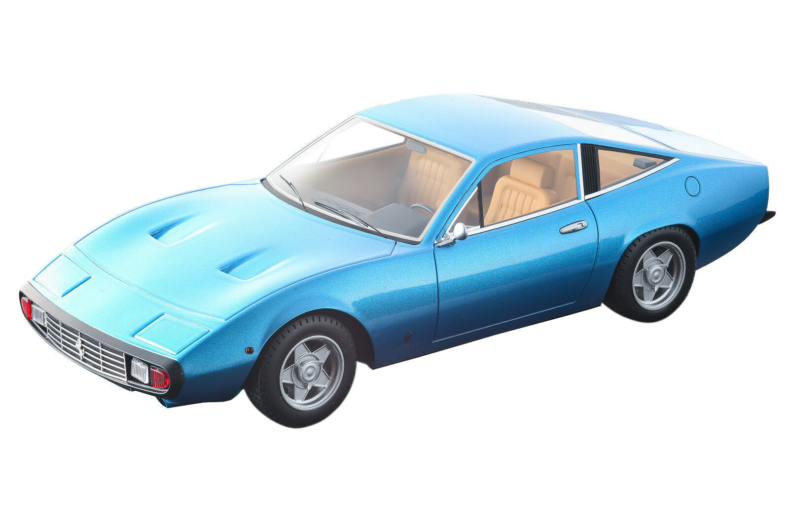 1971 Ferrari 365 GTC 4 Azzurro California bleu Limited Ed 1 18 TECNOMODEL TM18-92C