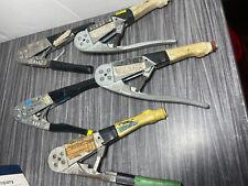 Lot Of 5 Buchanan 4 Way Hand Crimp Tool Pn 11210 Hand Crimper Stripper