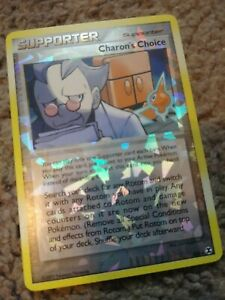 Charon-039-s-Choice-RT6-reverse-Holographic-rare-Pokemon-card-NM