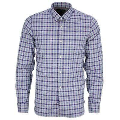 Tommy Hilfiger Herren Freizeit Hemd blau kariert MW0MW11530 0M2   eBay