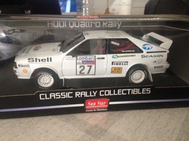 vendita calda online Audi Quattro Rtuttiy Rtuttiy Rtuttiy RAC LOMBARD 1982  27  SN 019 786 SUNestrella 4197  outlet
