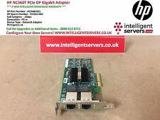 HP NC360T PCI Express Dual Port Gigabit Server Adapter * basso profilo * 412648-B21