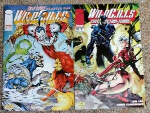 WILDCATS-Lot-of-2-Image-Comics-6-10-no-bags-low-price-fast-shipping