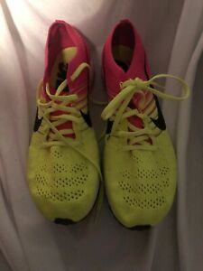 Details about NIKE FLYKNIT STREAK OLYMPIC RIO MULTI COLOR VOLT PINK 835994 999 sz 12.5