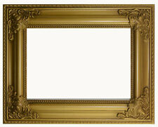 Barock Bilderrahmen RUBENS Holz Silber /& Schwarz 30x42cm DIN A 3 Spiegel