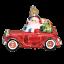 thumbnail 1 - Old World Christmas SANTA IN ANTIQUE CAR (40302)N Glass Ornament w/Box