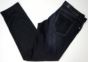 NWT $175 HUGO BOSS Regular Fit Stretch JEANS MENS Maine3 50374742 NEW Black