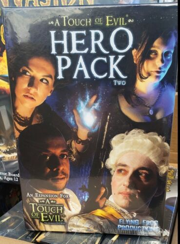 Flying Frog Touch of Evil Hero Pack 1 /& 2 Box Set Sealed New One Two Expansion