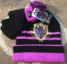 san francisco b6046 43eb7 item 5 Disney Descendants Knit Black   Purple Beanie Hat   Gloves~Winter Cap~Child  -Disney Descendants Knit Black   Purple Beanie Hat   Gloves~Winter Cap~ ...