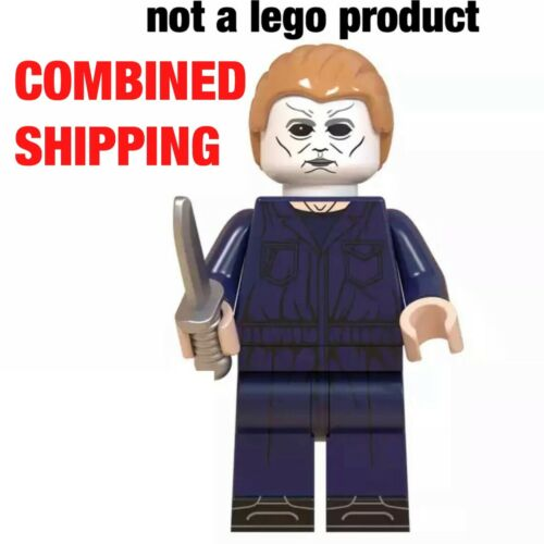 Michael Myers horror kilers USA seller Custom Minifigure