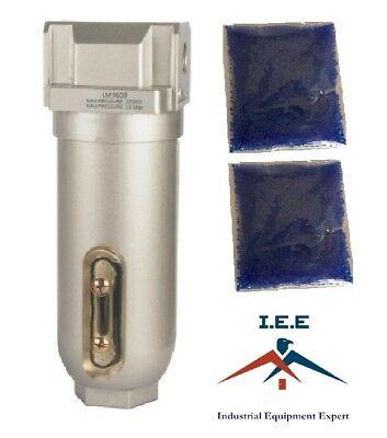 """3//8/"""" Compressed Air In-Line Filter /& Desiccant FLM863"""