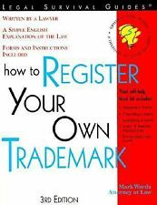 How to Register Your Own Trademark: With Forms-ExLibrary