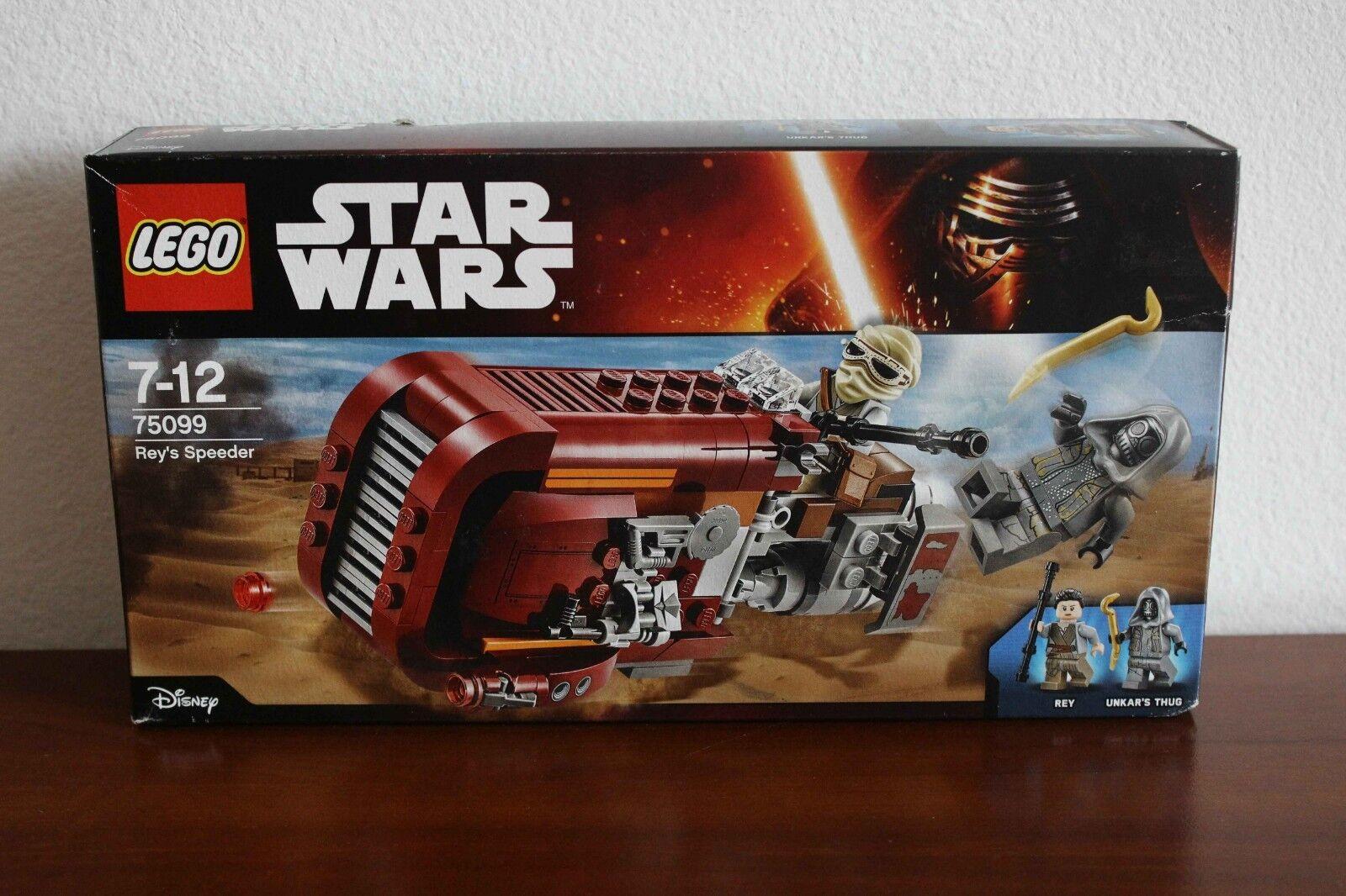 Lego stjärnornas krig Episod 7 Set 75099 -1 Rey's Speeder Brand New In låda
