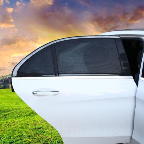 2x Universal Auto Fenster Sonnenschutz Hitze Insekten Schutz Kind Tiere S M L XL