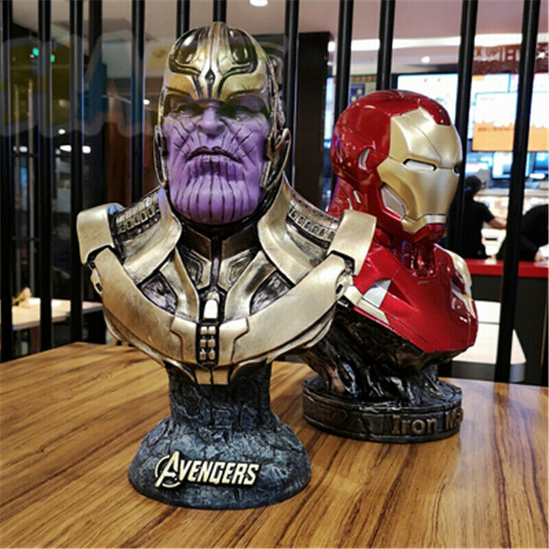 Avengers INFINITY era Thanos cifra 1 2 autoautobusto  resin cifra Collection geschen  spedizione veloce a te