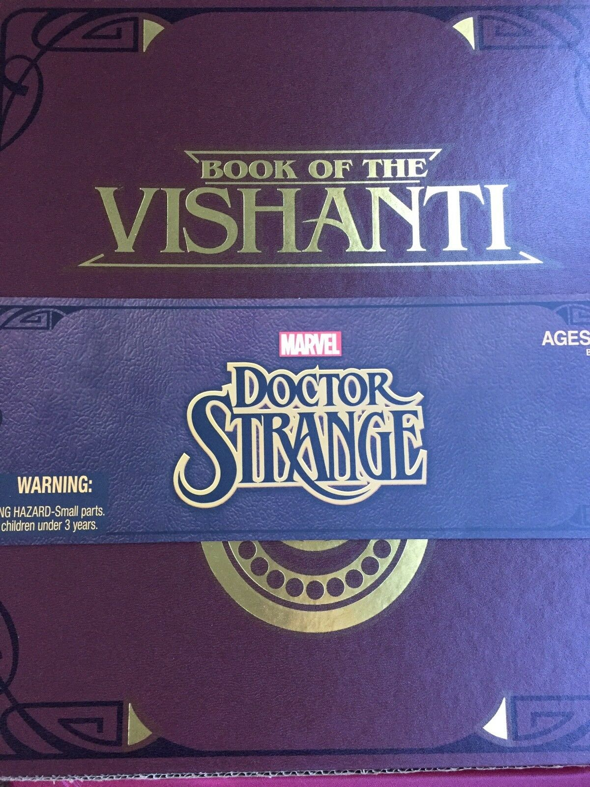 2015 Sdcc ohne Marvel Legends Dr Seltsame Book Of Vishanti Figur Set Hela Magik