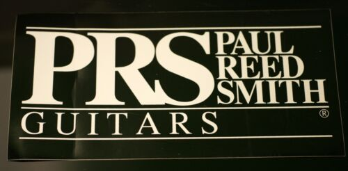 """PRS Guitars DecalPaul Reed Smith Sticker Extra Large 7.5 x 3.75/"""" NEW"""