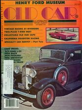 1979 Old Car Illustrated Magazine: Henry Ford Museum/Vintage Racing/Hub Caps